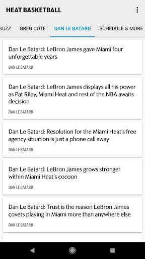 Heat Basketball screenshots 3