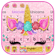 Glisten Unicorn Pinky Keyboard icon
