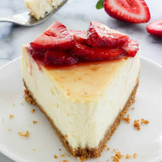 The Best New York-Style Cheesecake.