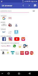 Download uk browser For PC Windows and Mac apk screenshot 1