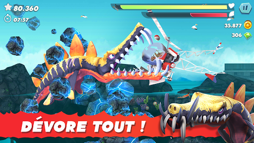 Code Triche Hungry Shark Evolution mod apk screenshots 6