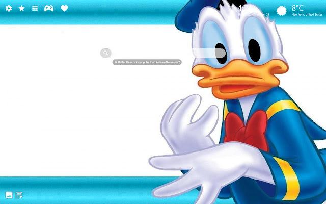 Donald the Duck Wallpaper HD