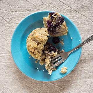 Blueberry Polenta Muffins.