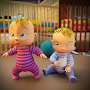 Real Mother Simulator: New Born Twin Baby Games 3D