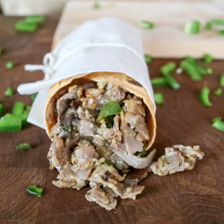 Spicy Cajun Philly Cheesesteak Wrap