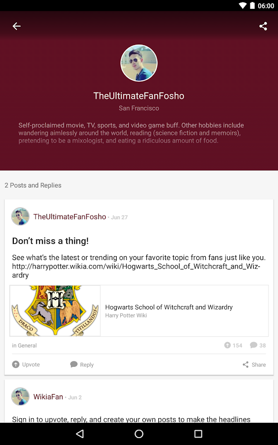 Fandom: Harry Potter- screenshot