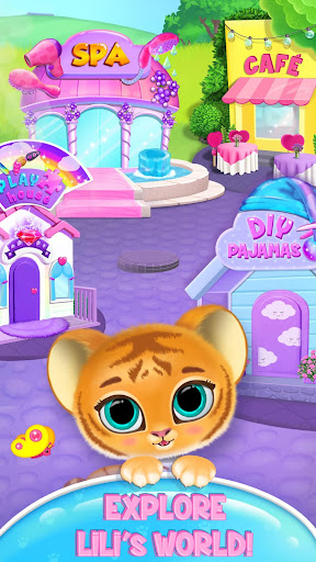 Baby Tiger Care - My Cute Virtual Pet Friend apkpoly screenshots 5