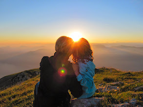 Photo: We love the Vistas  Sunset Monte Baldo - Italy