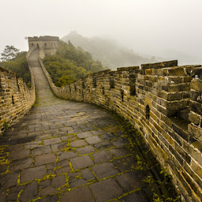 慕田峪长城 by Liqiang Huang - Buildings & Architecture Public & Historical ( great wall, fortification, beijing, china,  )