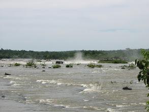 Photo: Iguazu River above falls