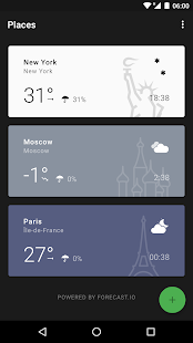 Weather Timeline - Forecast - náhled