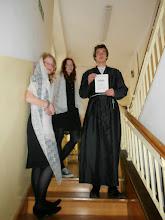 Photo: uczniowie klasy A3 zapraszają do uczestnictwa w atrakcjach związanych z Dniami Literatury