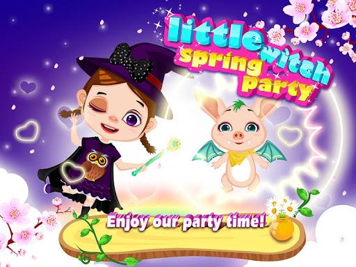 小魔女春遊派對