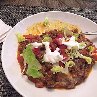 Ground Beef Taco Casserole.