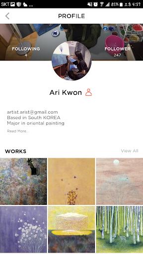 BBuzzArt: Sell & Buy Fine Art, Artworks, Painting 4.4.1 screenshots 2