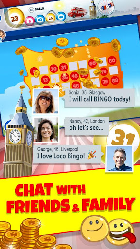Loco Bingo: Bet gold! Mega chat & USA VIP lottery apktreat screenshots 2