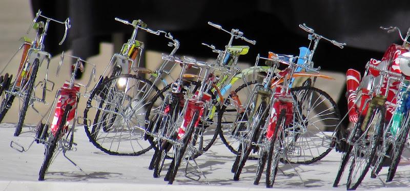 Biciclette che non portanto da nessuna parte di Giorgio Lucca