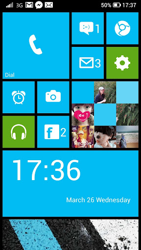 WP Launcher (Windows Phone Style) screenshot 14