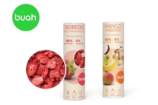 Bild für Cashback-Angebot: Buah Erdbeer oder Mango & Friends - Buah