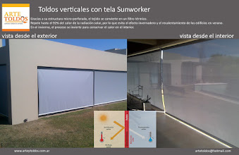 Photo: SUNWORKER VERTICALES MOTORIZADOS