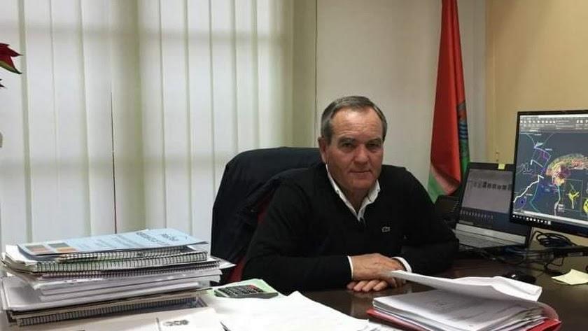 Cristóbal García, alcalde de Arboleas.