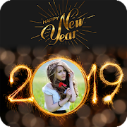 2019 New Year Photo Frames Greetings Wishes