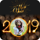 2019 New Year Photo Frames Greetings Wishes icon