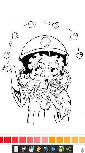 Betty Boop Coloring Book Apk 1.0 | Download Only APK file for Android