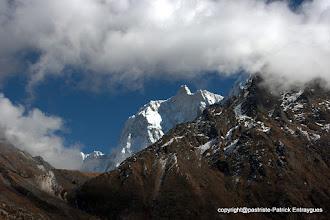 Photo: Face nord du Jannu ou Kumbhakarna 7710 m