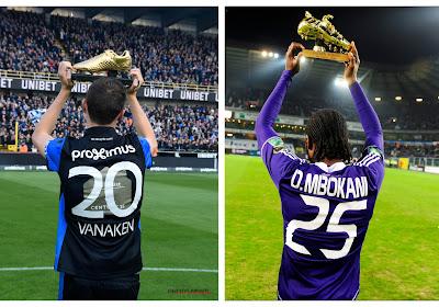 """Vanaken of Mbokani? """"Nooit aan durven denken"""" versus """"Nog altijd dezelfde als bij Standard en Anderlecht"""""""