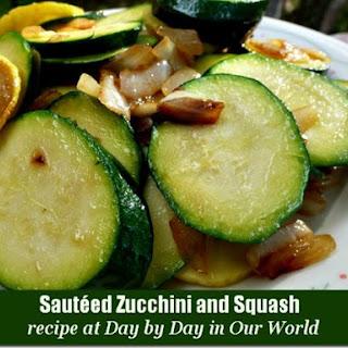 Sautéed Zucchini and Squash