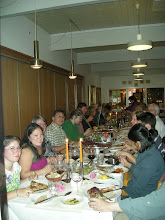 Photo: The whole group at our Danish Christmas feast--8/22/'08