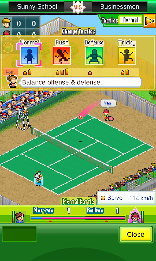 Tennis Club Story- screenshot
