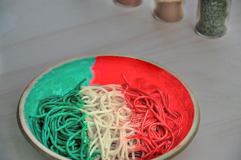 Spaghetti Tricolore di Moreno re