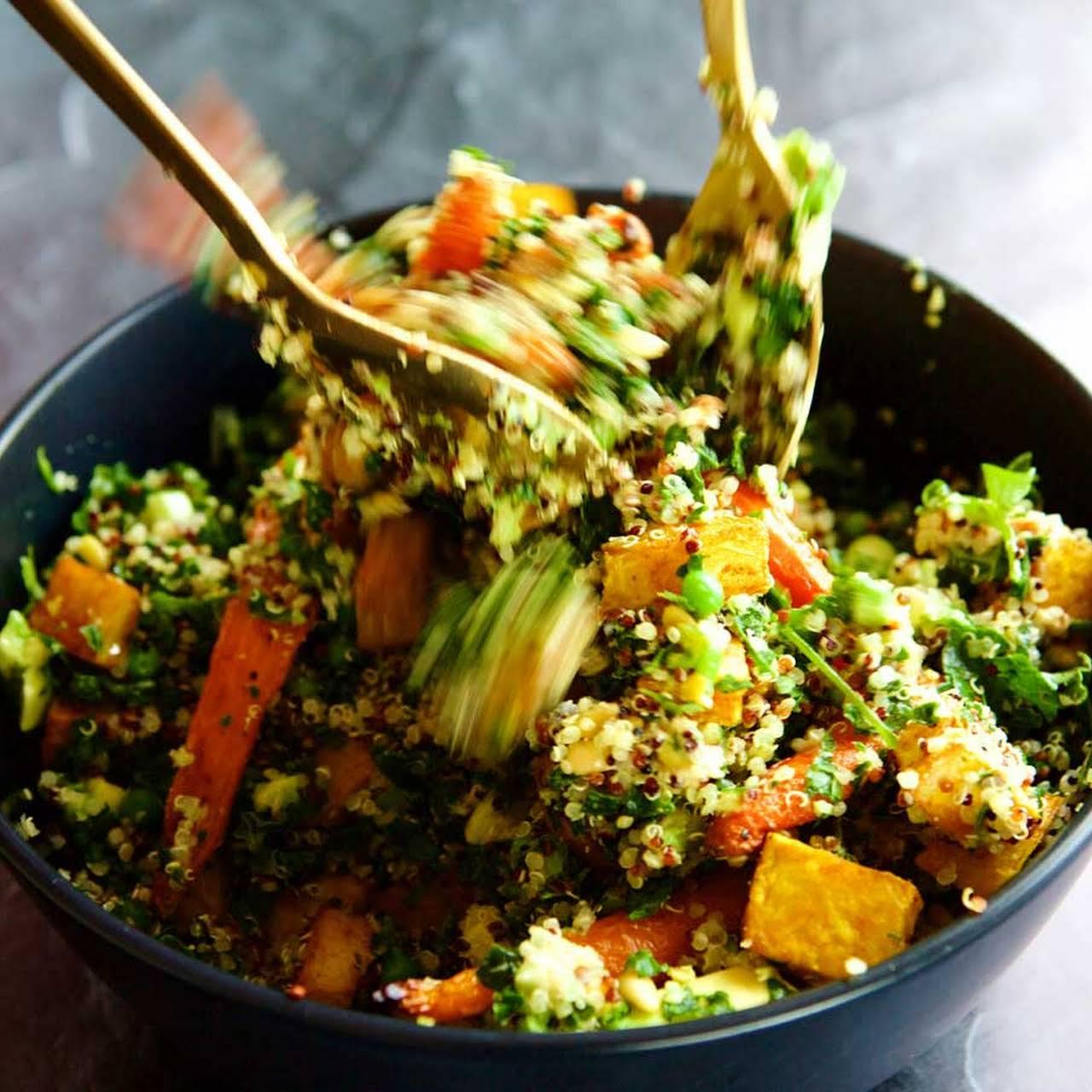 Roast Carrot & Quinoa Salad