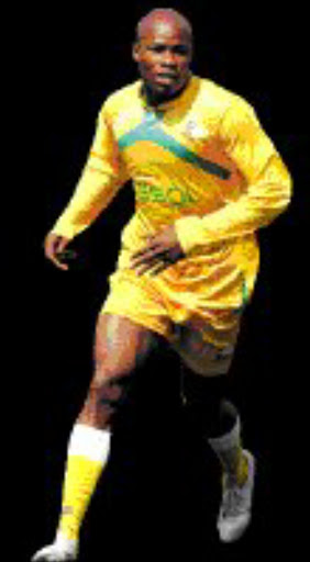 ROPED IN: SA Under 23s' calvin Kadi. Pic. Lefty Shivambu. 28/08/06. © Touchline.