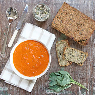 Roasted Tomato and Red Pepper Soup.