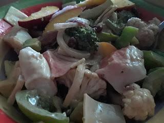 Veggie Crab Salad Recipe