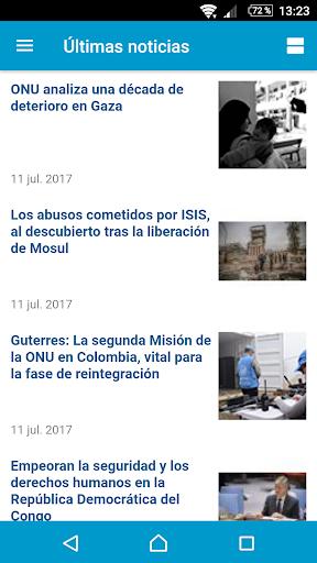 UN News Reader  screenshots 8