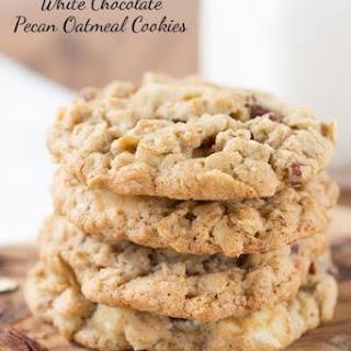 White Chocolate Oatmeal Pecan Cookies