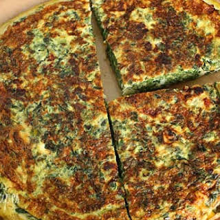 Light Spinach and Feta Frittata.