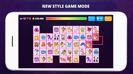 OnetM Puzzle – Connect animal 5
