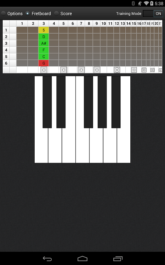 Let's Fret Master- screenshot