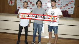 Pablo Siles, Ibán Andrés y Alberto Toril en rueda de prensa.
