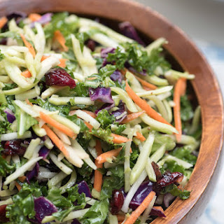 5 Minute Broccoli Kale Slaw
