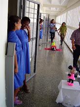 Photo: hallway of cuban prison. Tracey Eaton photo