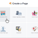 Create your Facebook Page