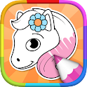 Horse Coloring Pages icon