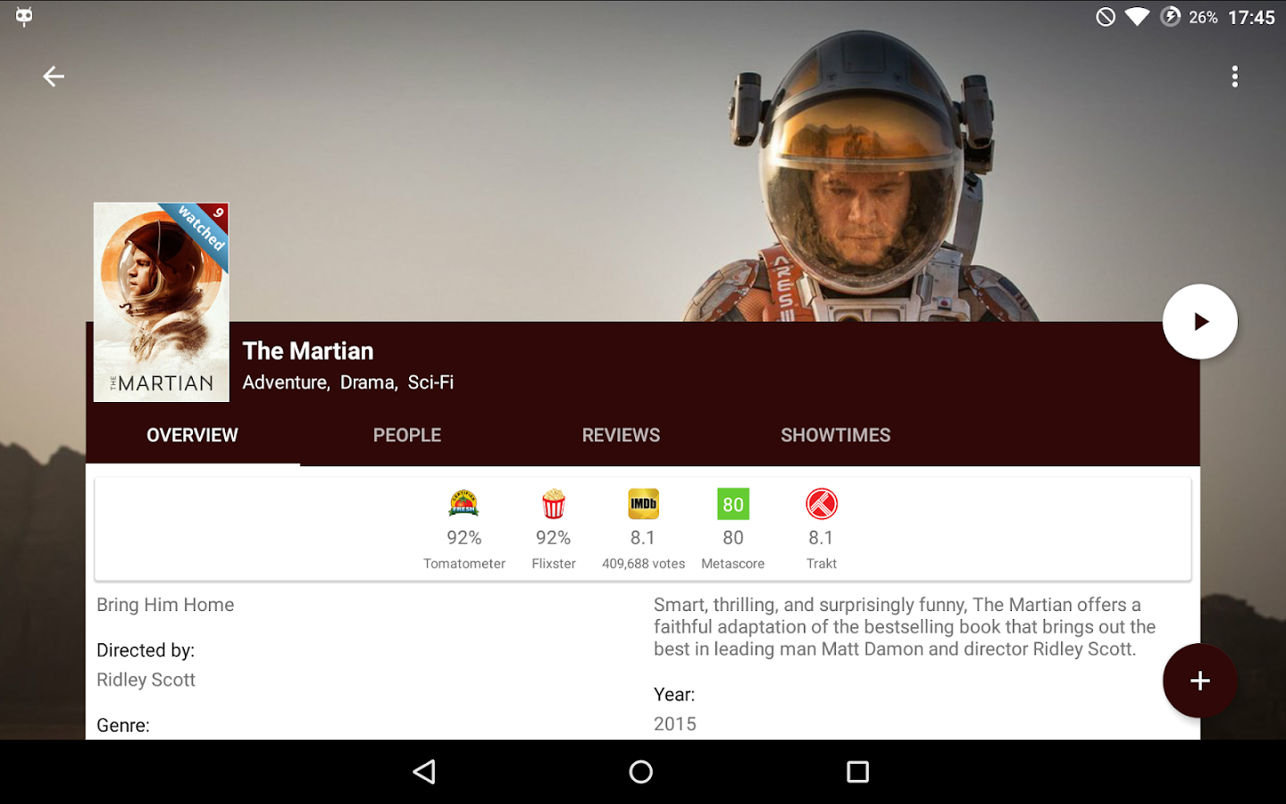 Movie Mate- screenshot