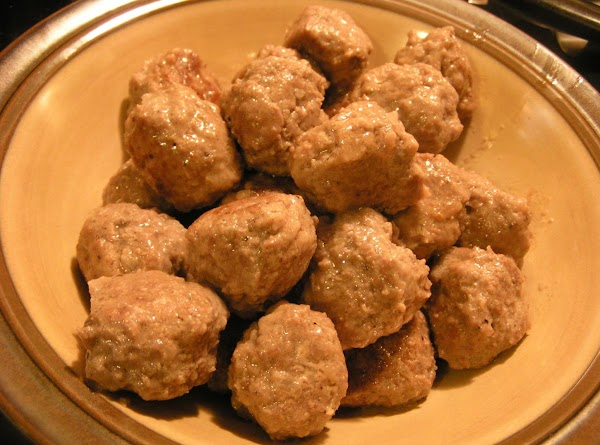 Once the meatballs are cooked, removed to a oven-proof dish and place in preheated...